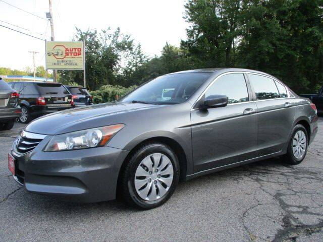 2012 Honda Accord for sale at AUTO STOP INC. in Pelham NH