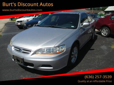 2002 Honda Accord for sale at Burt's Discount Autos in Pacific MO