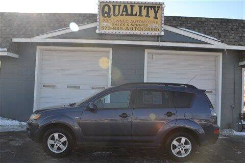 2007 Mitsubishi Outlander for sale at Quality Pre-Owned Automotive in Cuba MO