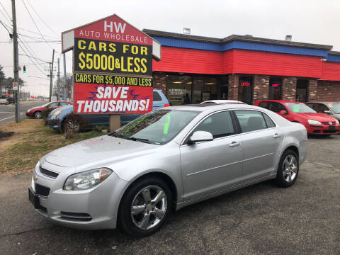 2010 Chevrolet Malibu for sale at HW Auto Wholesale in Norfolk VA