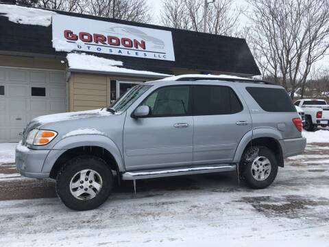 2004 Toyota Sequoia for sale at Gordon Auto Sales LLC in Sioux City IA