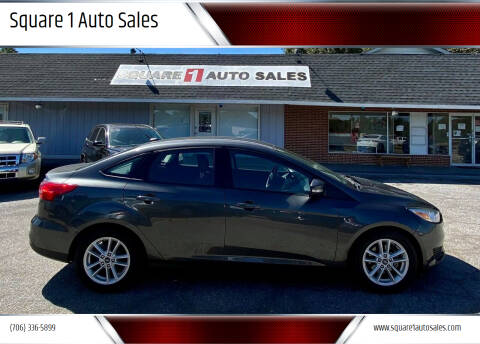 2017 Ford Focus for sale at Square 1 Auto Sales - Commerce in Commerce GA