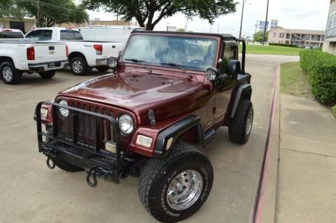 2003 Jeep Wrangler for sale at E-Auto Groups in Dallas TX