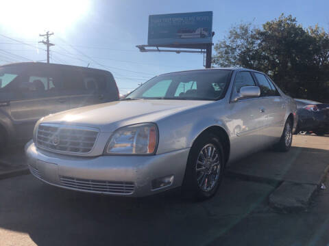 2003 Cadillac DeVille for sale at Wolff Auto Sales in Clarksville TN
