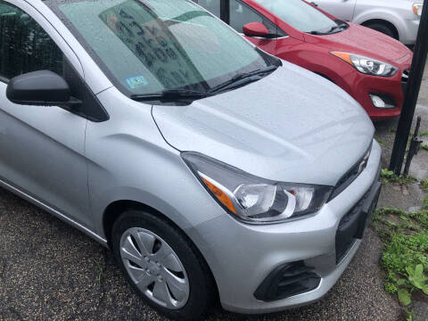 2016 Chevrolet Spark for sale at Chris Auto Sales in Springfield MA