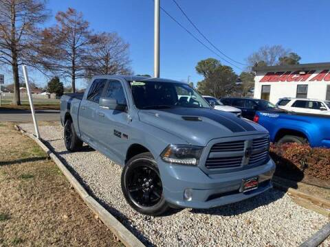 2015 RAM Ram Pickup 1500 for sale at Beach Auto Brokers in Norfolk VA
