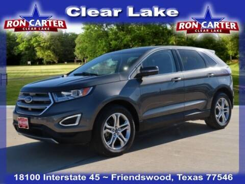 2016 Ford Edge for sale at Ron Carter  Clear Lake Used Cars in Houston TX