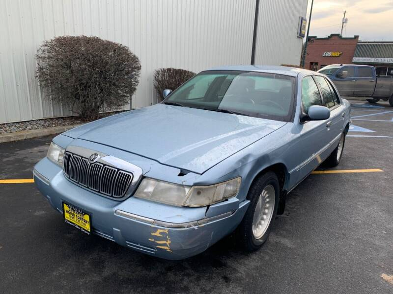 1999 Mercury Grand Marquis for sale at DAVENPORT MOTOR COMPANY in Davenport WA