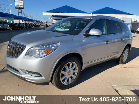 2015 Buick Enclave for sale at JOHN HOLT AUTO GROUP, INC. in Chickasha OK