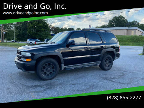 2002 Chevrolet Tahoe for sale at Drive and Go, Inc. in Hickory NC