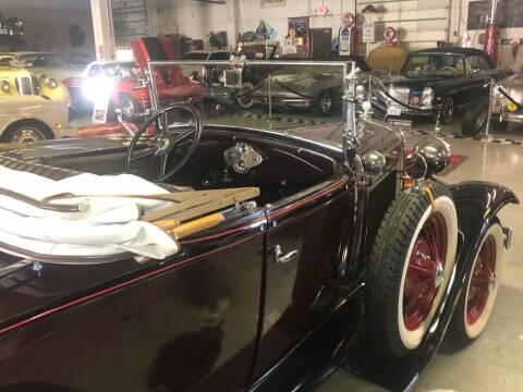 1931 Ford Model A for sale at Berliner Classic Motorcars Inc in Dania Beach FL