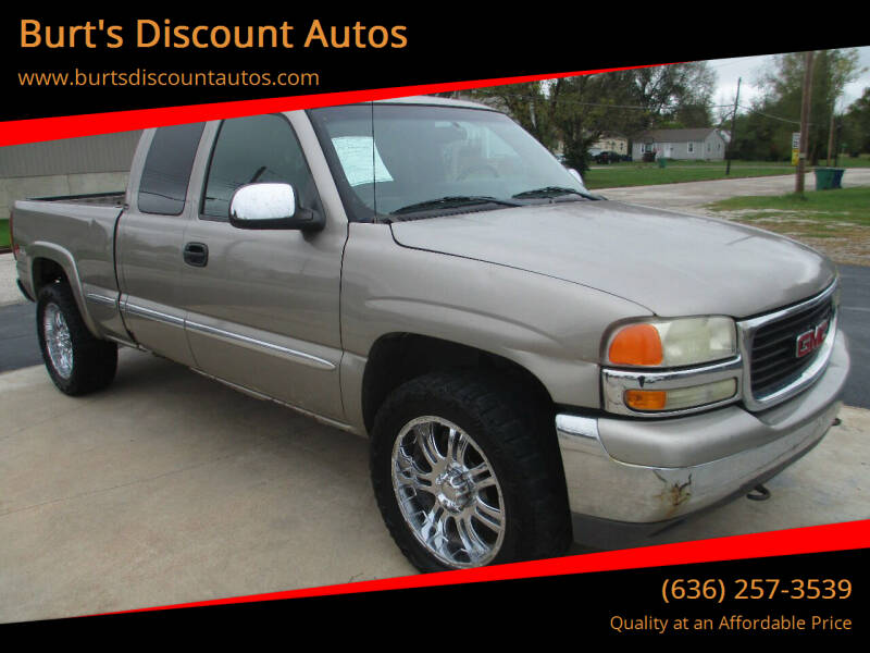 2002 GMC Sierra 1500 for sale at Burt's Discount Autos in Pacific MO