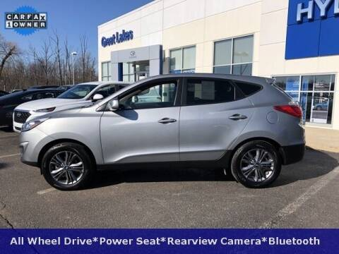 2015 Hyundai Tucson for sale at Cj king of car loans/JJ's Best Auto Sales in Troy MI