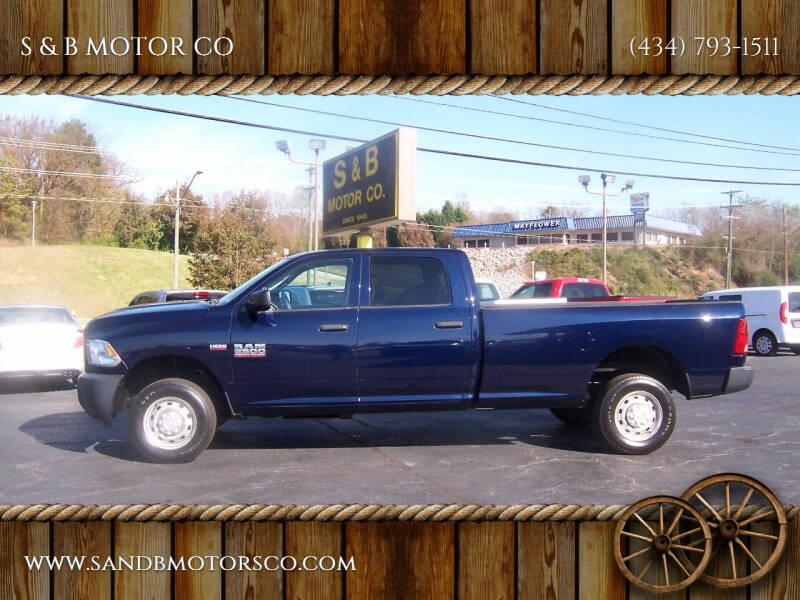 2013 RAM Ram Pickup 2500 for sale at S & B MOTOR CO in Danville VA