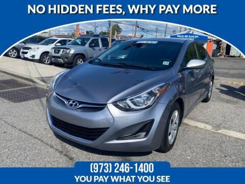 2016 Hyundai Elantra for sale at Route 46 Auto Sales Inc in Lodi NJ