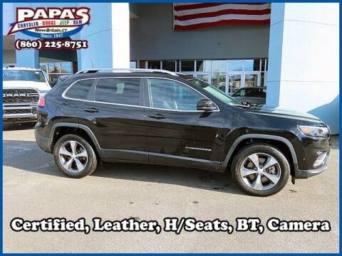 2019 Jeep Cherokee for sale at Papas Chrysler Dodge Jeep Ram in New Britain CT