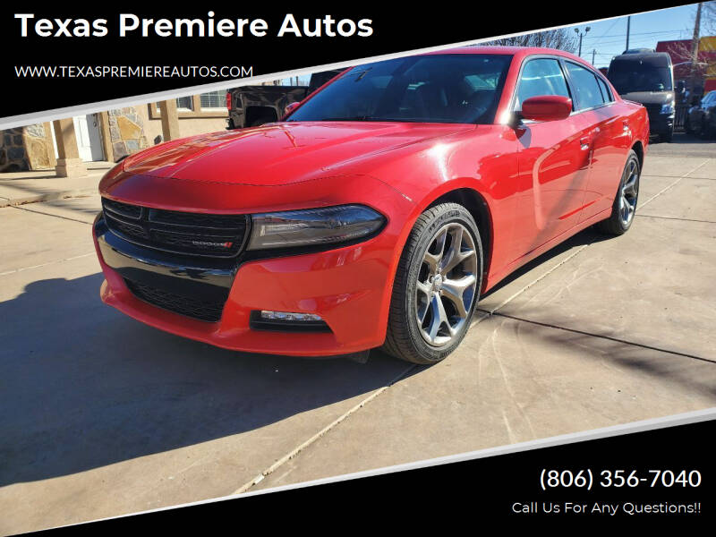 2016 Dodge Charger for sale at Texas Premiere Autos in Amarillo TX