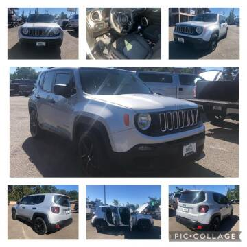 2016 Jeep Renegade for sale at SIERRA AUTO LLC in Salem OR