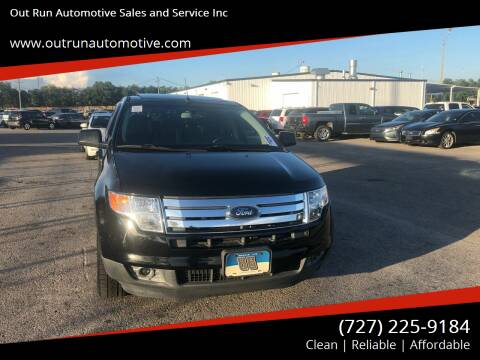 2008 Ford Edge for sale at Out Run Automotive Sales and Service Inc in Tampa FL