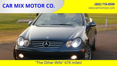 2004 Mercedes-Benz CLK for sale at CAR MIX MOTOR CO. in Phoenix AZ
