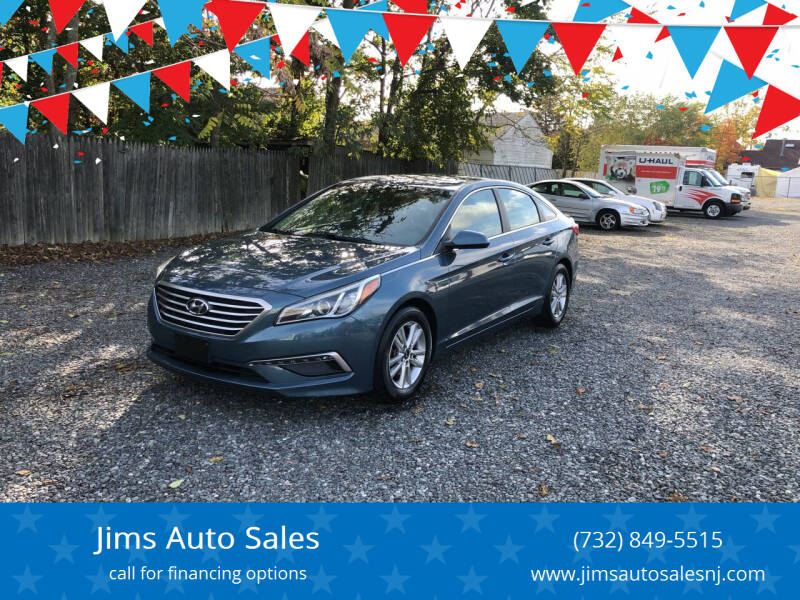 2015 Hyundai Sonata for sale at Jims Auto Sales in Lakehurst NJ
