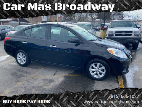 2014 Nissan Versa for sale at Car Mas Broadway in Crest Hill IL