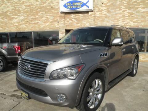 2014 Infiniti QX80 for sale at Kingdom Auto Centers in Litchfield IL