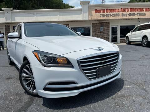 2015 Hyundai Genesis for sale at North Georgia Auto Brokers in Snellville GA