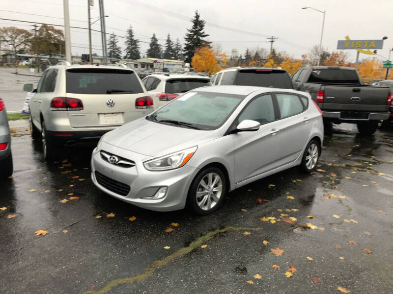 2014 Hyundai Accent for sale at Autos Cost Less LLC in Lakewood WA