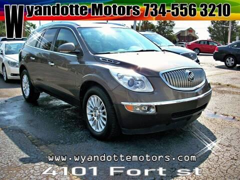 2011 Buick Enclave for sale at Wyandotte Motors in Wyandotte MI