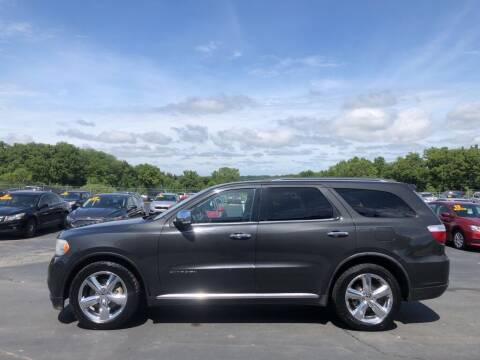 2011 Dodge Durango for sale at CARS PLUS CREDIT in Independence MO