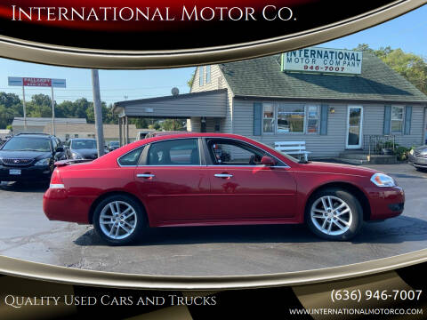 2013 Chevrolet Impala for sale at International Motor Co. in Saint Charles MO