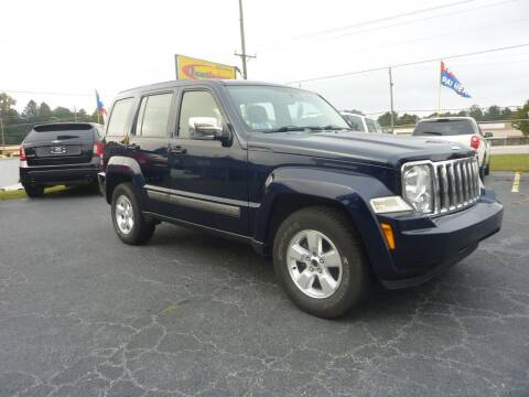 2012 Jeep Liberty for sale at Roswell Auto Imports in Austell GA