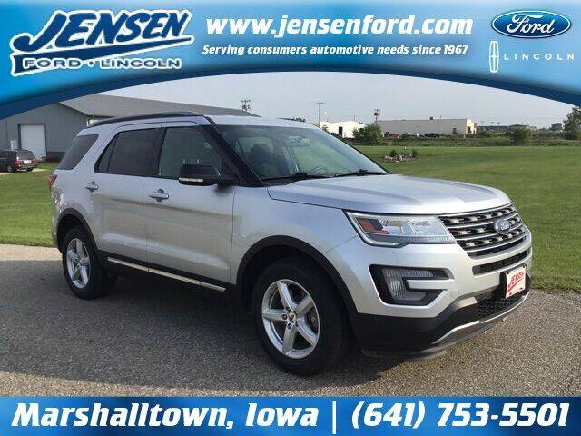 2017 Ford Explorer for sale at JENSEN FORD LINCOLN MERCURY in Marshalltown IA