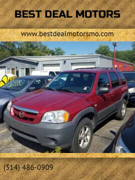 2005 Mazda Tribute for sale at Best Deal Motors in Saint Charles MO