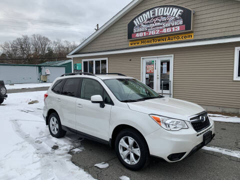 2014 Subaru Forester for sale at Home Towne Auto Sales in North Smithfield RI
