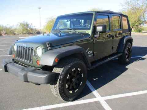 2008 Jeep Wrangler Unlimited for sale at Corporate Auto Wholesale in Phoenix AZ