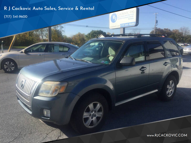 2010 Mercury Mariner for sale at R J Cackovic Auto Sales, Service & Rental in Harrisburg PA