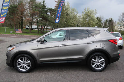 2013 Hyundai Santa Fe Sport for sale at GEG Automotive in Gilbertsville PA