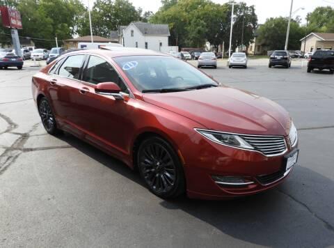 2013 Lincoln MKZ for sale at Grant Park Auto Sales in Rockford IL