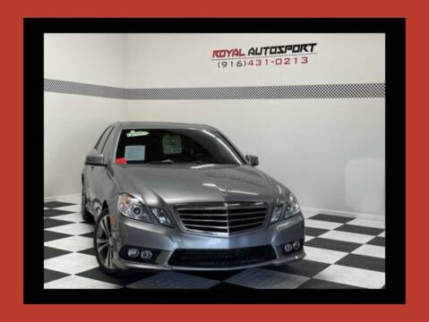 2010 Mercedes-Benz E-Class for sale at Royal AutoSport in Sacramento CA