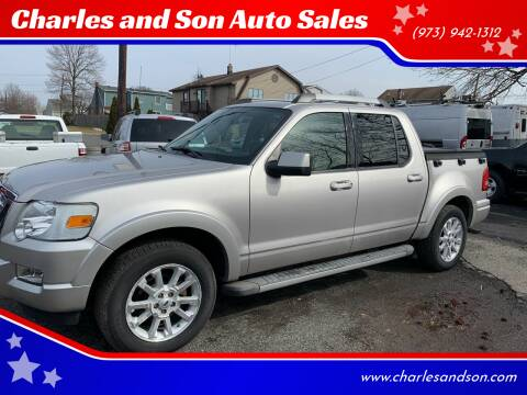 2008 Ford Explorer Sport Trac for sale at Charles and Son Auto Sales in Totowa NJ