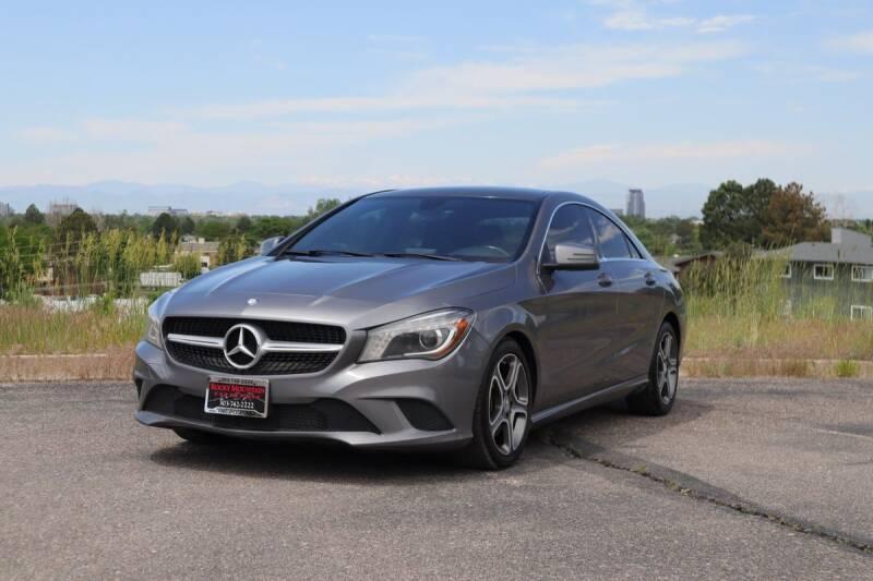 2014 Mercedes-Benz CLA for sale in Denver, CO