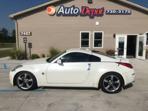2006 Nissan 350Z for sale at The Auto Depot in Mount Morris MI