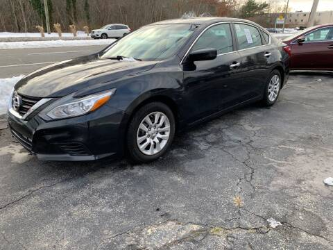 2016 Nissan Altima for sale at Mike's Auto Sales in Westport MA