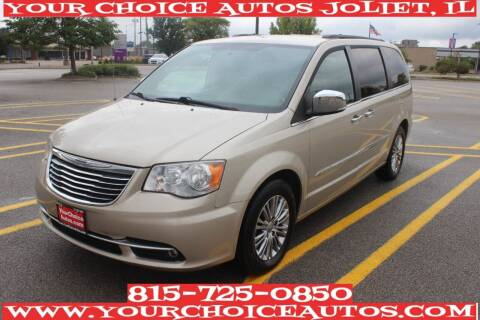 2013 Chrysler Town and Country for sale at Your Choice Autos - Joliet in Joliet IL