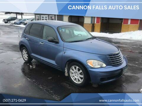 2007 Chrysler PT Cruiser for sale at Cannon Falls Auto Sales in Cannon Falls MN