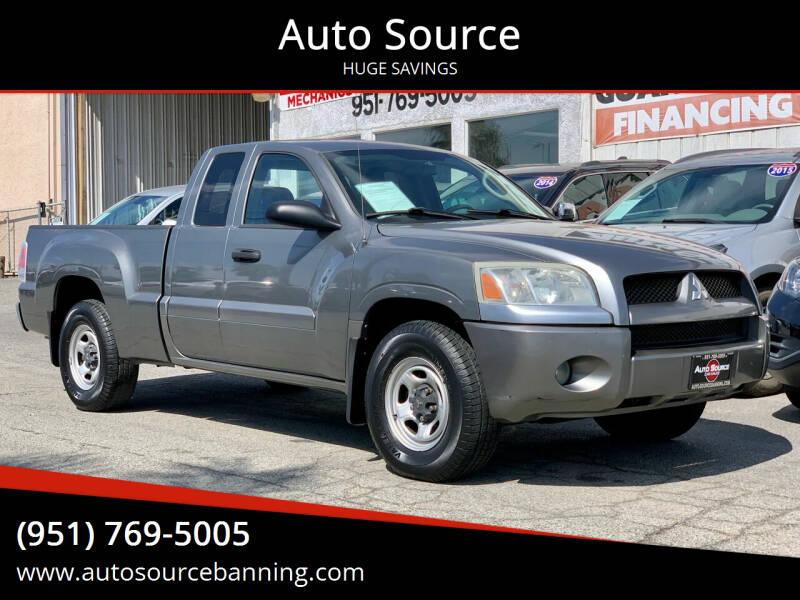 2007 Mitsubishi Raider for sale at Auto Source in Banning CA