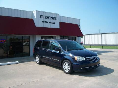 2014 Chrysler Town and Country for sale at Fairwinds Auto Sales in Dewitt AR