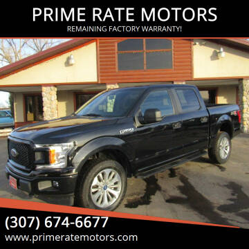 2018 Ford F-150 for sale at PRIME RATE MOTORS in Sheridan WY